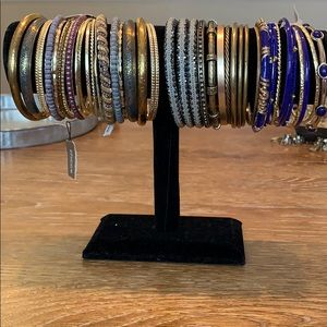 Stunning lot of bangles
